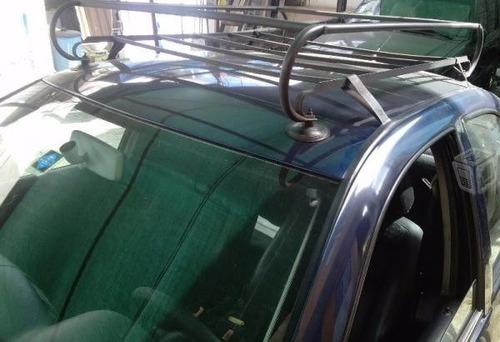 canastilla porta equipaje reforzada trineo o araña