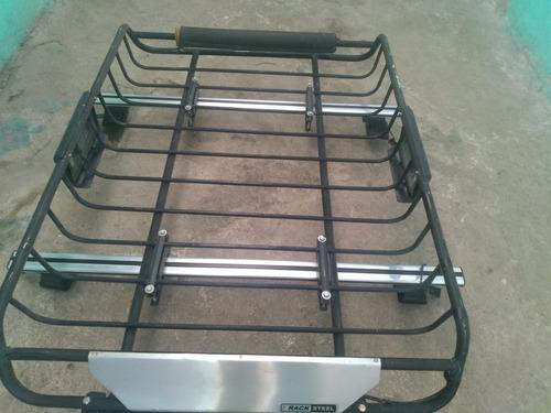 canastilla racksteel con barra de aluminio reforzada y barra