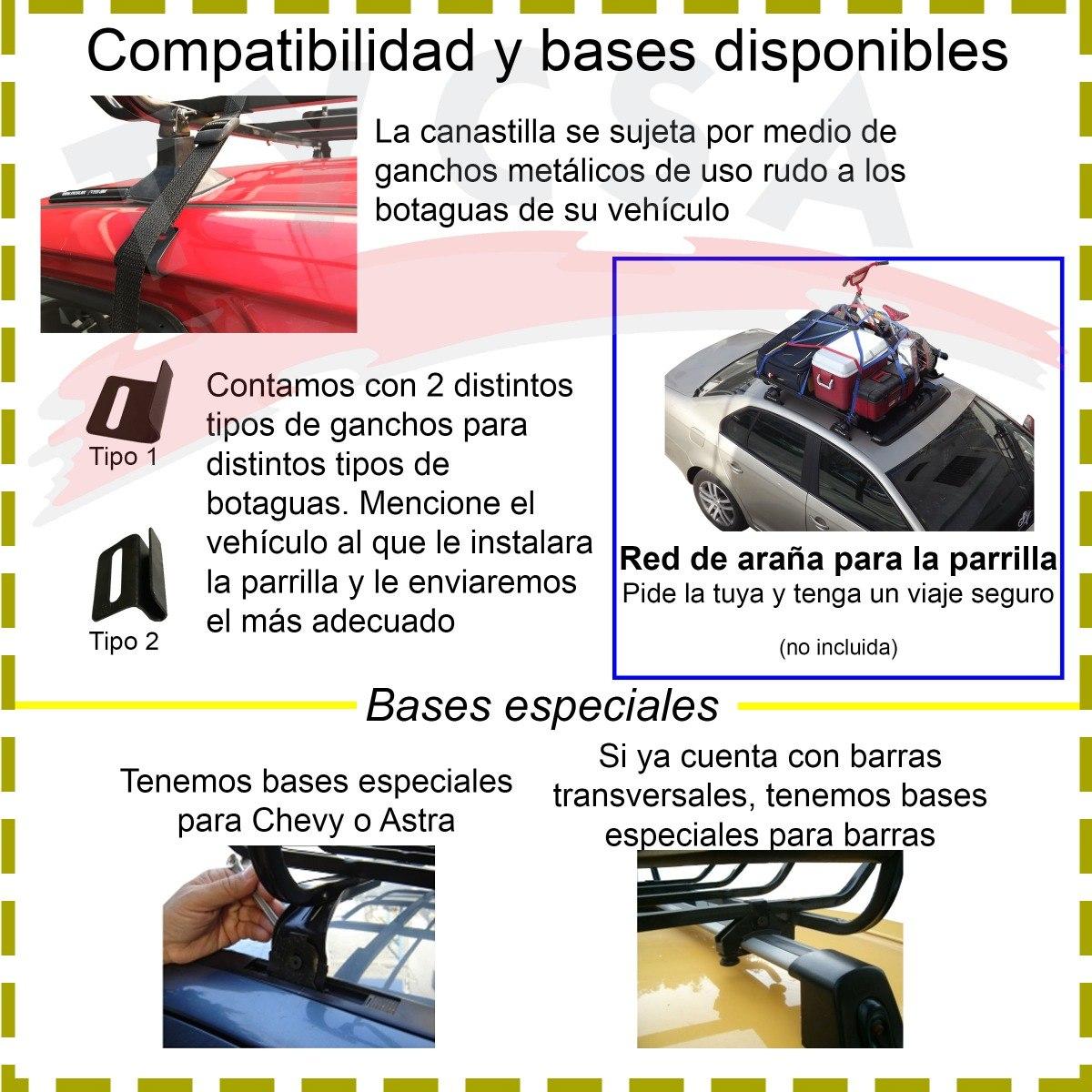 Canastilla Universal Parrilla Porta Equipaje Tubo Cal 18 ... 38bcec0d6d41