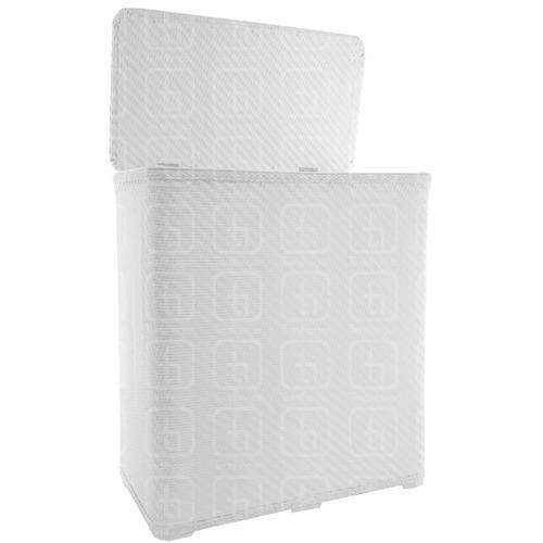 canasto baño rafia sintetica p/ ropa muy solido anti agua