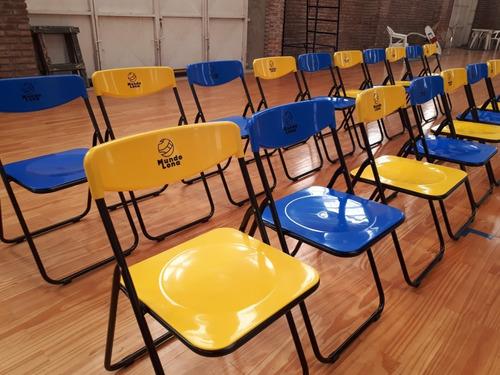 canasto con sillas plegables ( 20 sillas)