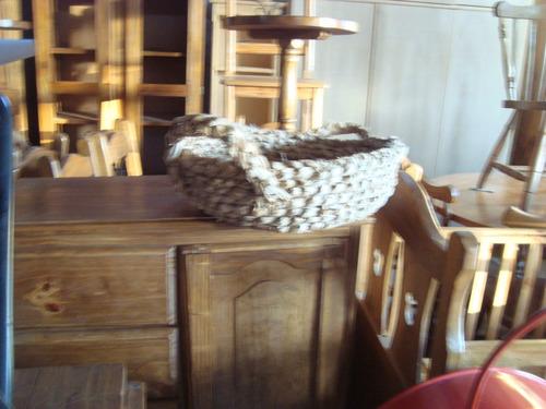 canasto o sestea trenada de tutora,decoración rusticas,flore