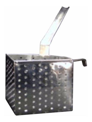 canasto para pastas radial chico acero inox
