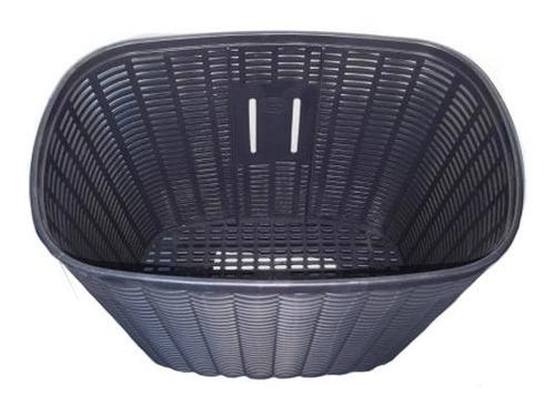 canasto plastico negro grande para mtb playera plegables