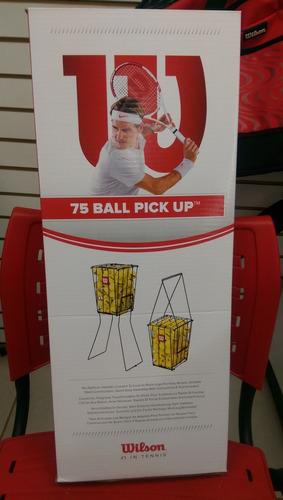 canasto recoge pelotas de tenis wilson envío gratis