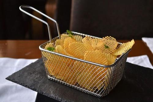 canasto tamaño mediano para snacks - ajidiseño