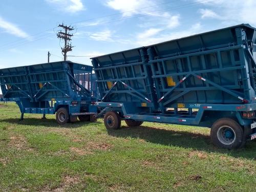 canavieiro cana picada carreta transbordo plantio