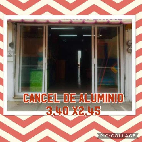 cancel de aluminio $$$
