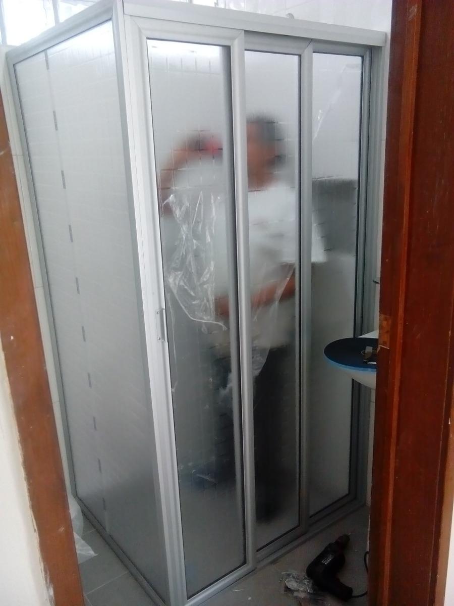 Cancel de ba o de aluminio con acriplastico 1 for Cuanto sale una puerta