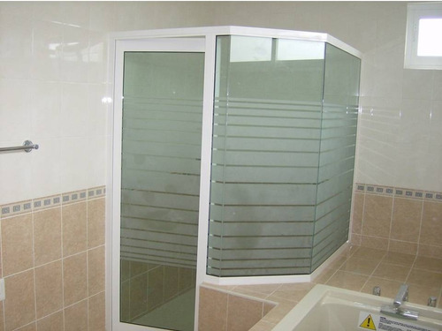 cancel de baño de aluminio   mamparas