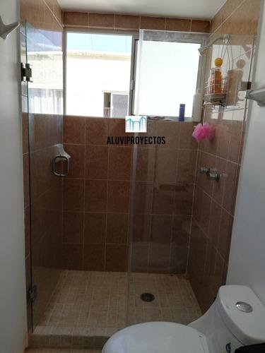 cancel de baño vidrio templado 1.50x1.80