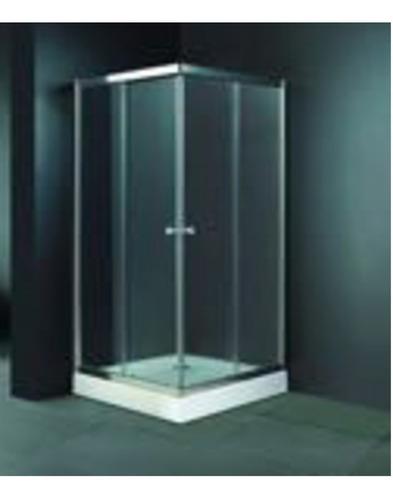 cancel para baño cuadrado grueso 6mm 90x90x185 cm oferta