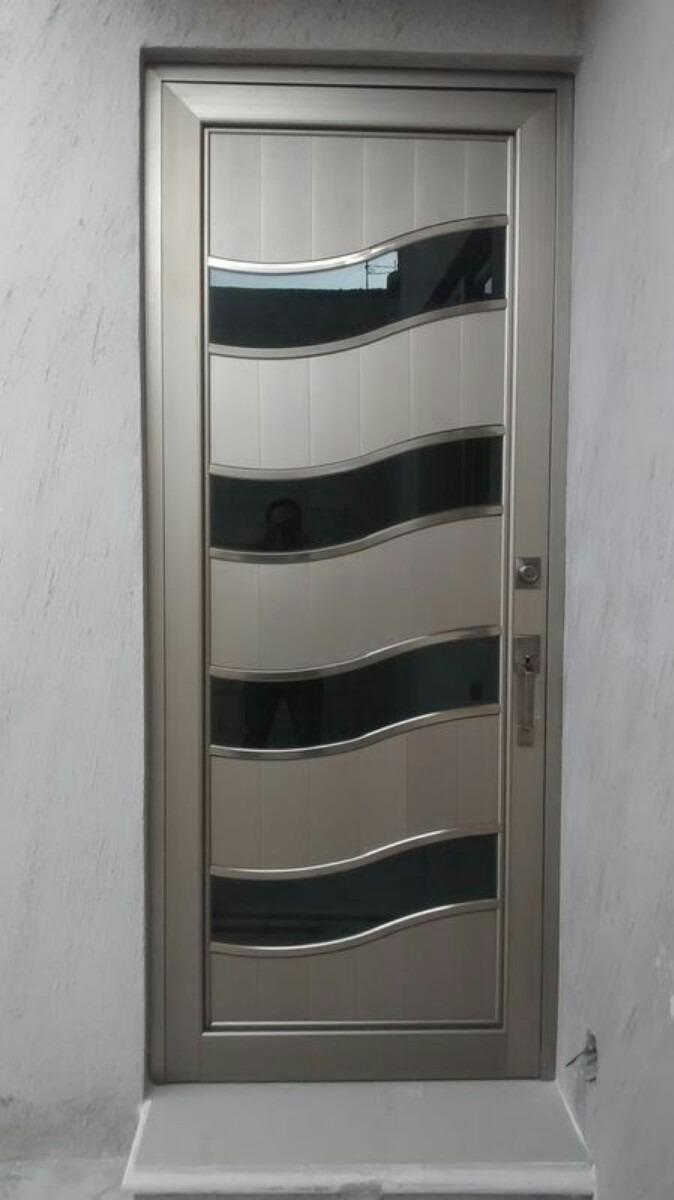 Canceleria de aluminio en gral y herreria 1 en for Puertas de aluminio y vidrio modernas