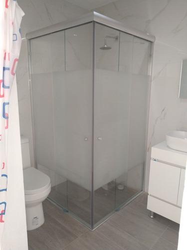 canceles de baño cristal templado
