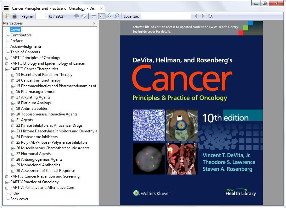 Cancer principles practice oncology devita 10e original r 7900 cancer principles practice oncology devita 10e original carregando zoom fandeluxe Choice Image