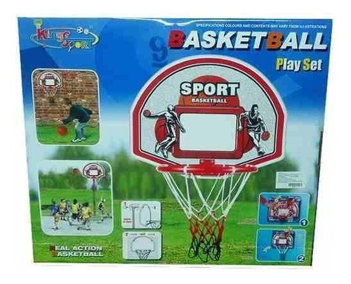 cancha basketball juego set sport baloncesto 2088k-1
