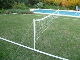 cancha de futbol tenis completa red,estacas lineas demarcaci