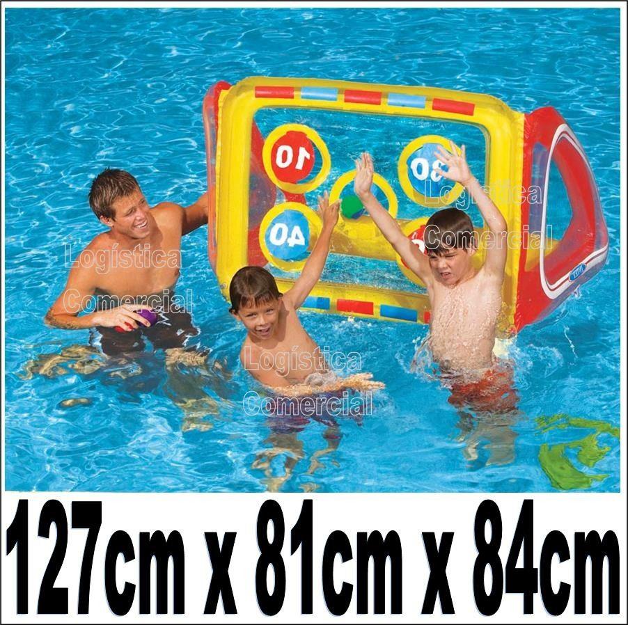 Cancha de juego inflable pelota intex piscina playa for Piscina playa precio