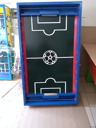 cancha de madera para futbolitos