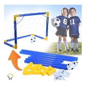 Cancha Fútbol Portable Niños Mini Cancha + Balón + Maya Jugu