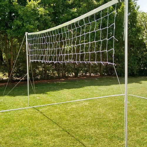 cancha futbol tenis voley kit completo 10 x 6.m red parantes - para cesped natural y arena - stock