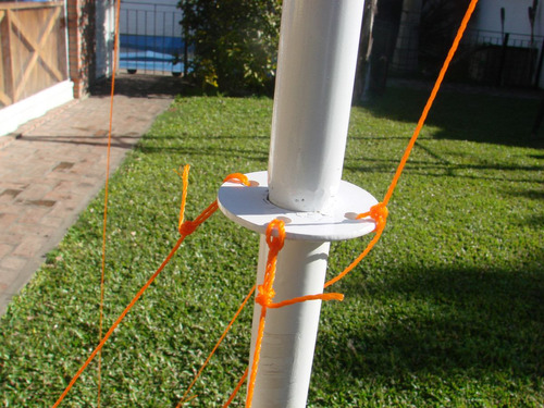 cancha voley futbol tenis c/ red tensor estacas envío gratis