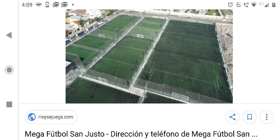 canchas de futbol mas terreno sobre avenida san justo unico!