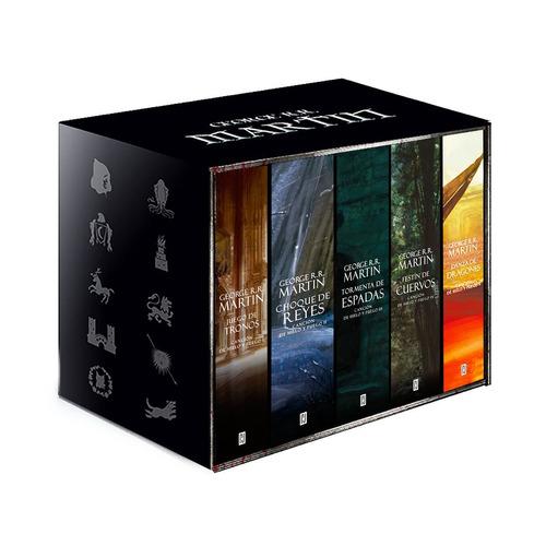 cancion de hielo y fuego paquete c/5 libros