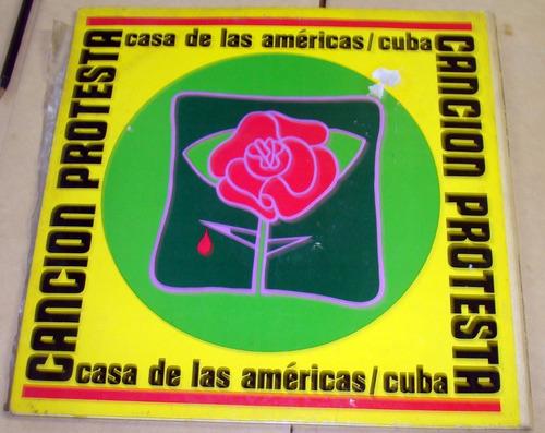 cancion protesta a. parra viglietti puebla lp doble cubano
