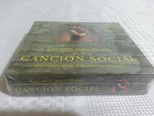 canción social tres cd originales sellados
