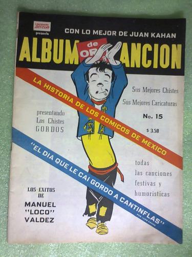 cancionero canciones cómicas juan kahan cantinflas 1959