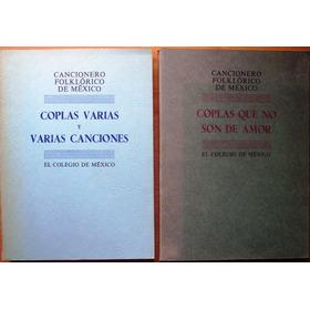 Cancionero Flolklórico D México: Vols. 3 Y 4 A Súper Precio!