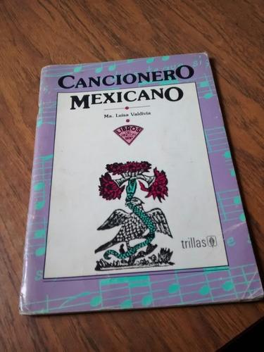 cancionero mexicano - ma. luisa valdivia