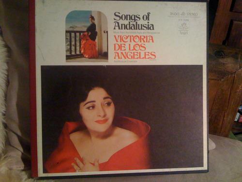 canciones de andalucia  victoria de los angeles lp
