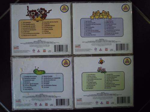 canciones infantiles 4 cds mama gallina