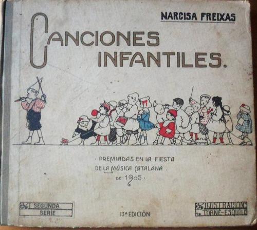 canciones infantiles / narcisa freixas (1905)