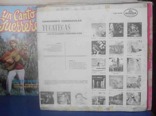 canciones vernáculas yucatecas, conjunto chichen-itza