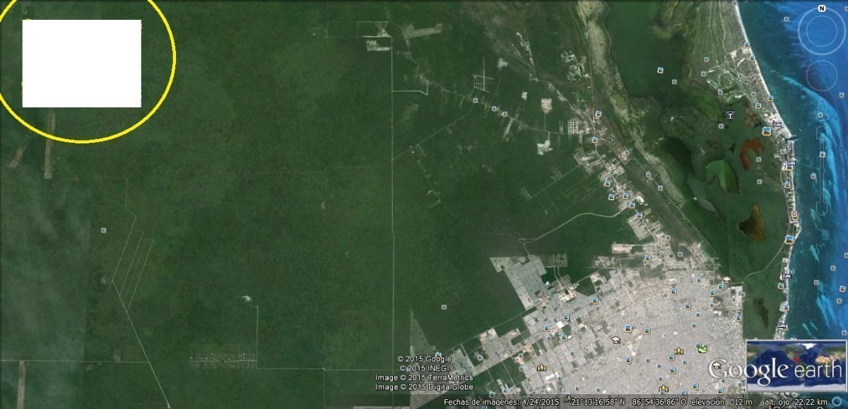 cancún 874 ha terreno se vende todo o en partes