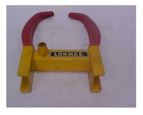candado antirobo ruedas amarillo wheel clamp lokmas