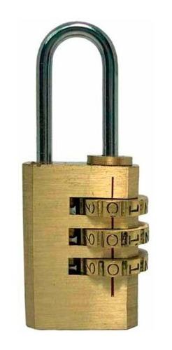 candado best-value combinacion bronce 20mm