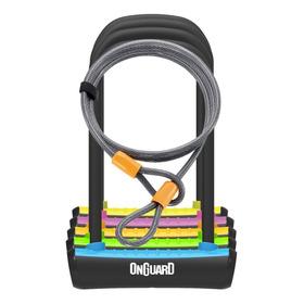 Candado Bicicleta + Guaya Onguard Neon 8154 U Lock