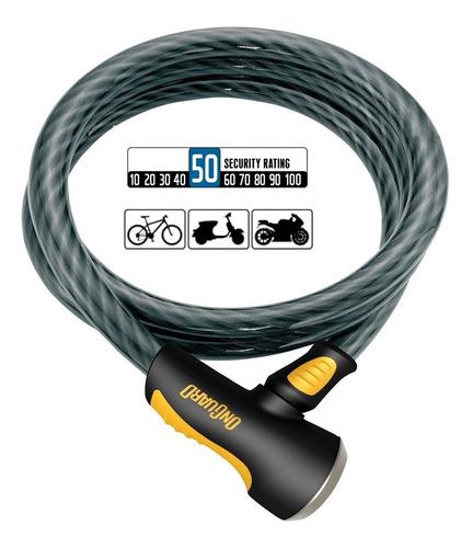 candado bicicleta onguard akita 8037 cable de seguridad