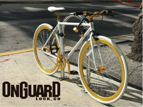 candado bicicleta onguard brute std 8001 - u lock