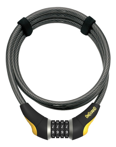 candado bicicleta onguard doberma 8032- cable de seguridad