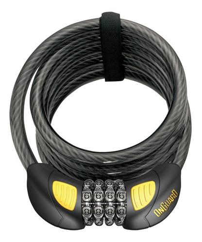 candado bicicleta onguard terrier 8064 glo - tipo cable