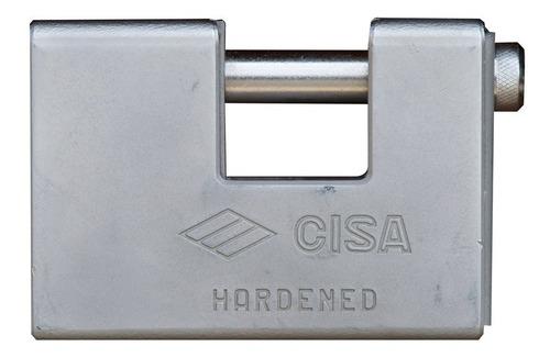 candado blindado con llave de punto de 100mm cisa