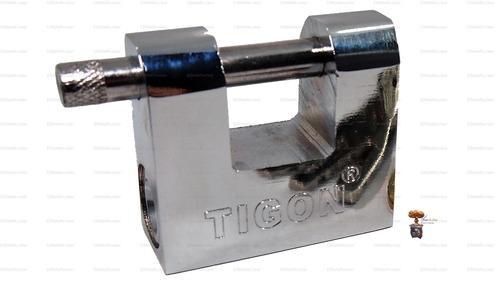 candado blindado tigon perno anti corte 50mm cil bronce emn