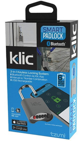 Candado Bluetooth Tzumi Klic Smart