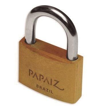 candado bronce 25mm con igual llave (20 un) papaiz ka