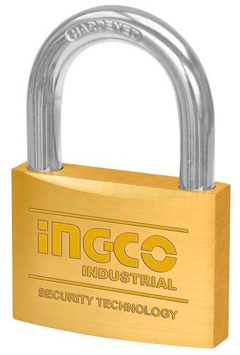 candado bronce 60mm ingco dbpl0602 industrial ff